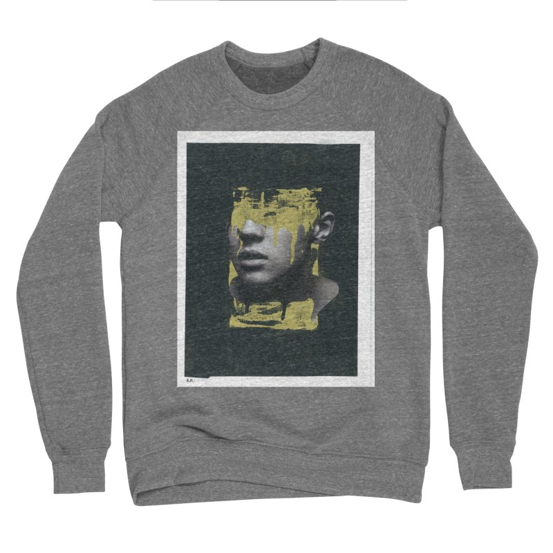 Gold Men's Sponge Fleece Sweatshirt by notes and pictures's Artist Shop
