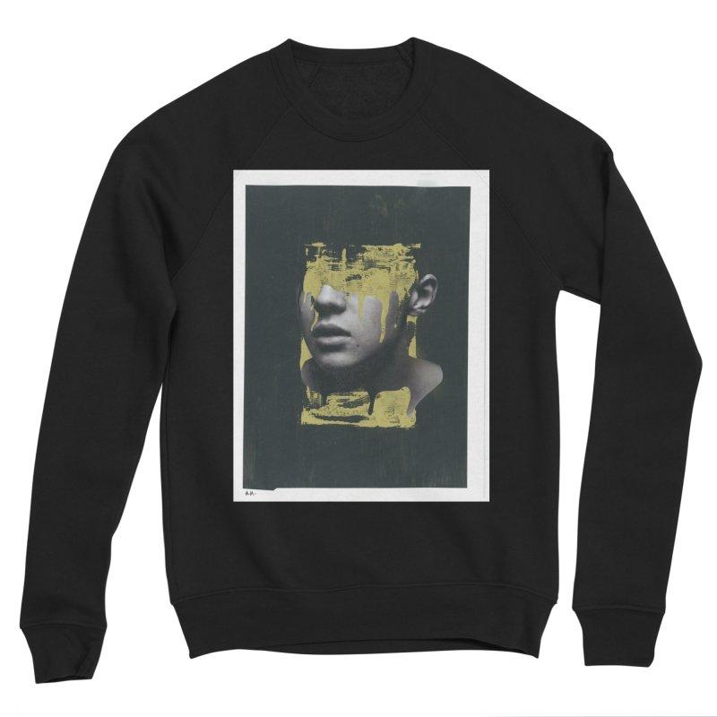 Gold Men's Sponge Fleece Sweatshirt by notes and pictures's Artist Shop