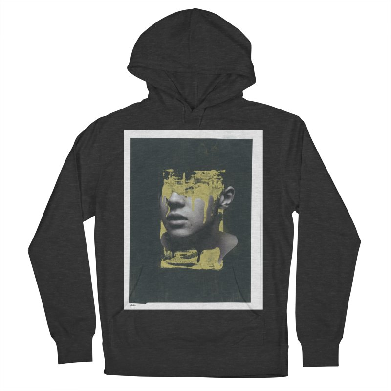 Gold Women's French Terry Pullover Hoody by notes and pictures's Artist Shop