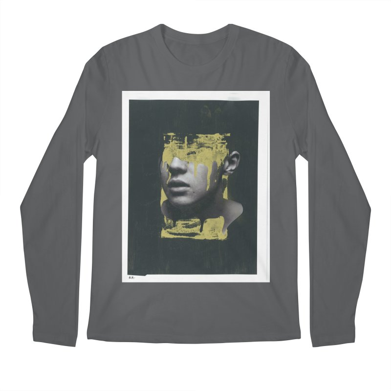 Gold Men's Longsleeve T-Shirt by notes and pictures's Artist Shop