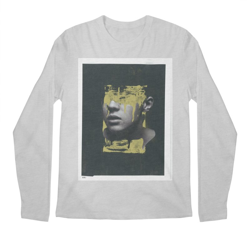 Gold Men's Regular Longsleeve T-Shirt by notes and pictures's Artist Shop