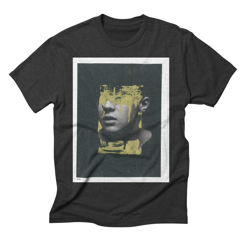 Gold Men's Triblend T-Shirt by notes and pictures's Artist Shop