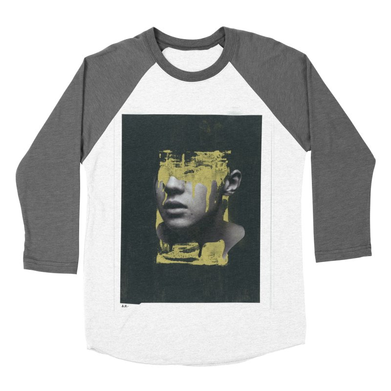 Gold Women's Baseball Triblend Longsleeve T-Shirt by notes and pictures's Artist Shop