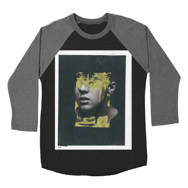 Gold Men's Baseball Triblend Longsleeve T-Shirt by notes and pictures's Artist Shop