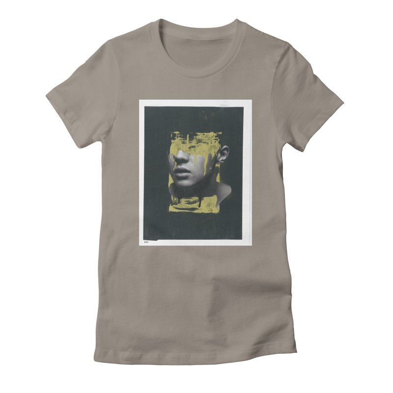Gold Women's T-Shirt by notes and pictures's Artist Shop