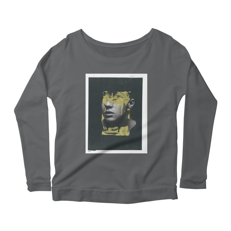 Gold Women's Scoop Neck Longsleeve T-Shirt by notes and pictures's Artist Shop