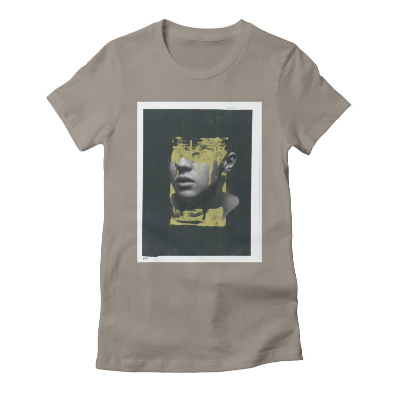 Gold Women's Fitted T-Shirt by notes and pictures's Artist Shop
