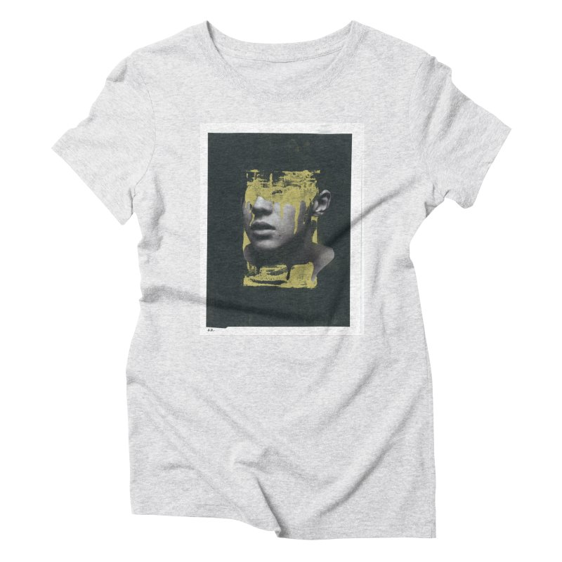 Gold Women's Triblend T-Shirt by notes and pictures's Artist Shop