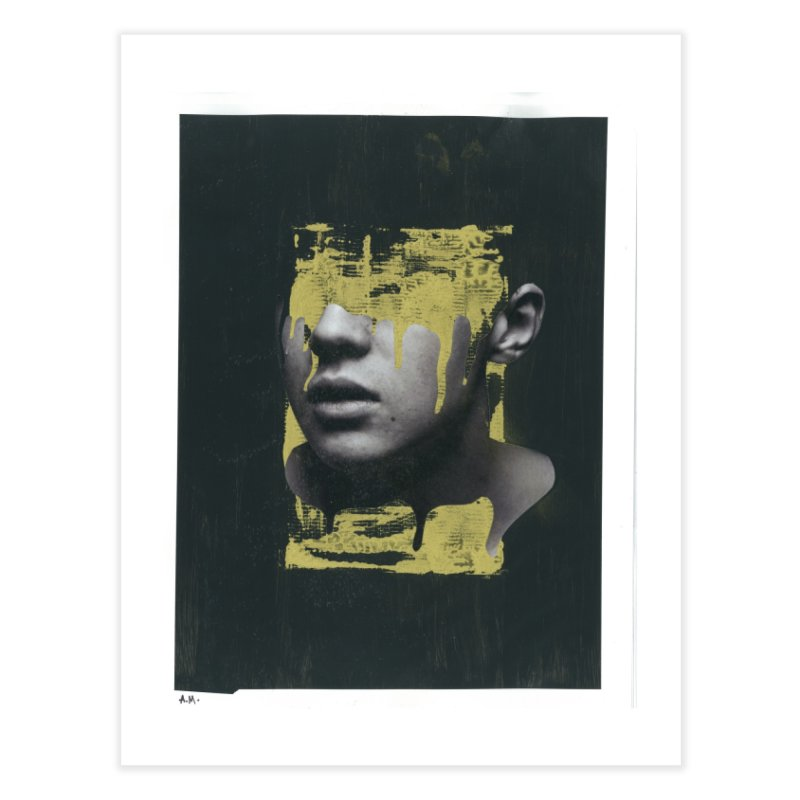 Gold Home Fine Art Print by notes and pictures's Artist Shop