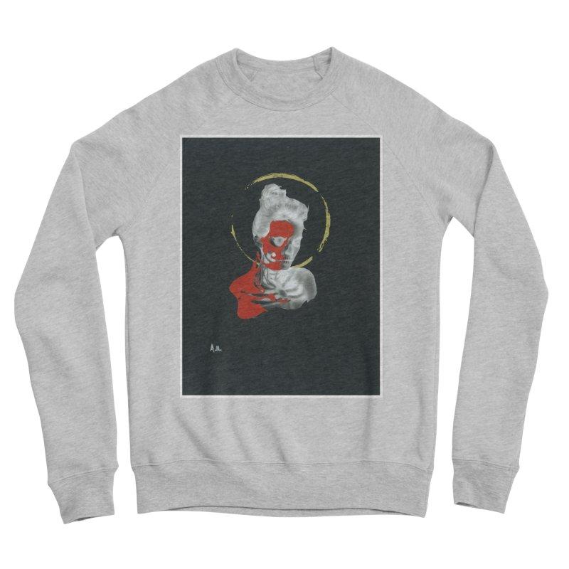 Skeleton Shadows Men's Sponge Fleece Sweatshirt by notes and pictures's Artist Shop