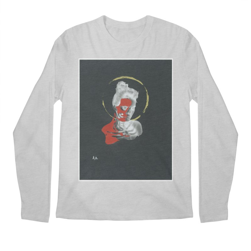 Skeleton Shadows Men's Regular Longsleeve T-Shirt by notes and pictures's Artist Shop