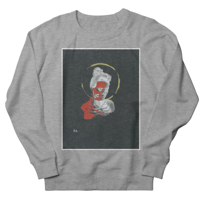 Skeleton Shadows Women's French Terry Sweatshirt by notes and pictures's Artist Shop
