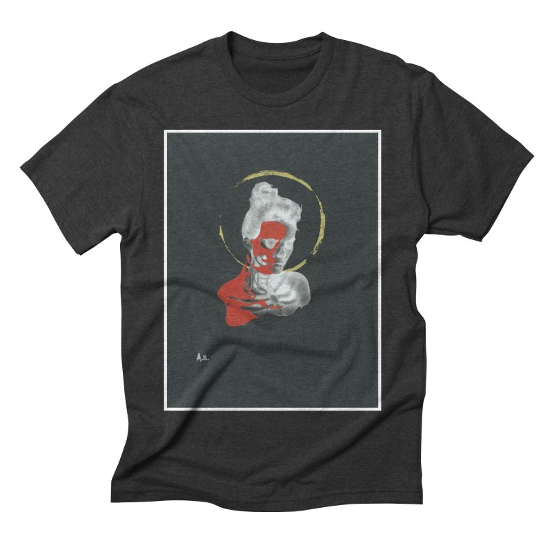 Skeleton Shadows Men's Triblend T-Shirt by notes and pictures's Artist Shop