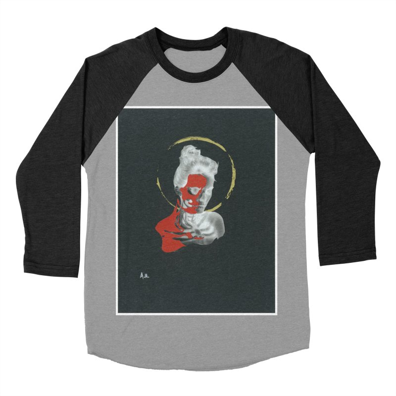 Skeleton Shadows Women's Baseball Triblend Longsleeve T-Shirt by notes and pictures's Artist Shop
