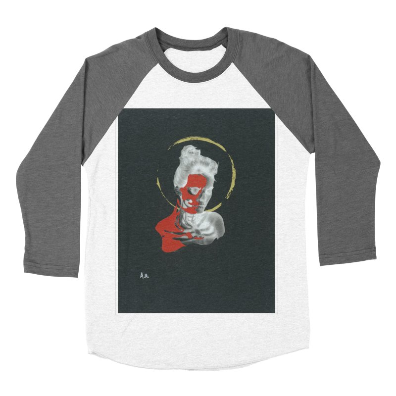 Skeleton Shadows Men's Baseball Triblend Longsleeve T-Shirt by notes and pictures's Artist Shop