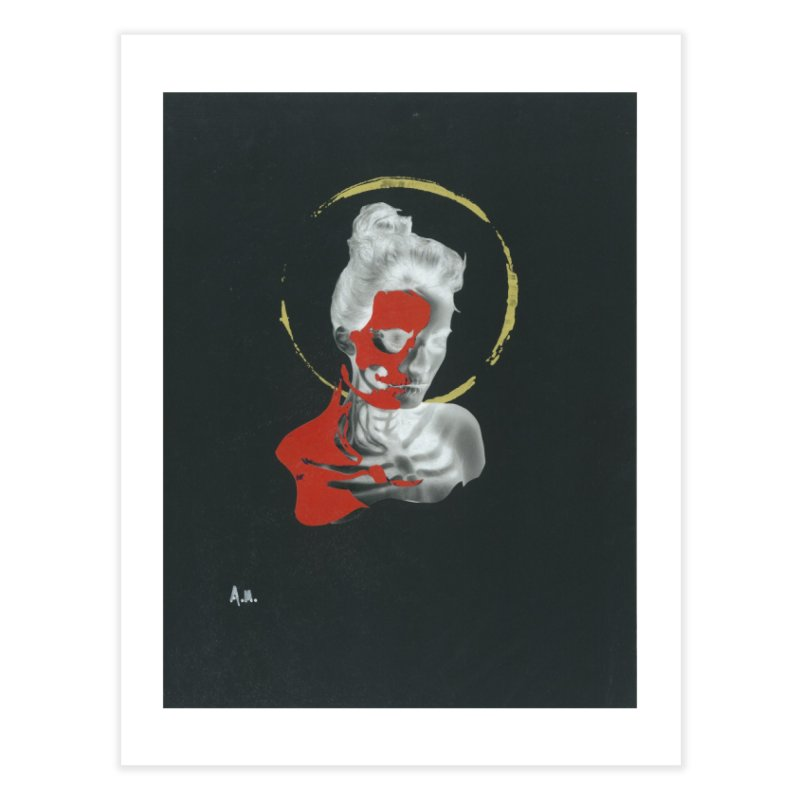 Skeleton Shadows Home Fine Art Print by notes and pictures's Artist Shop