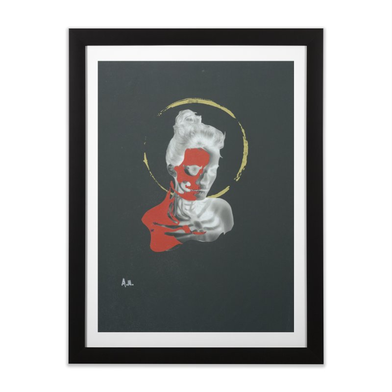 Skeleton Shadows Home Framed Fine Art Print by notes and pictures's Artist Shop