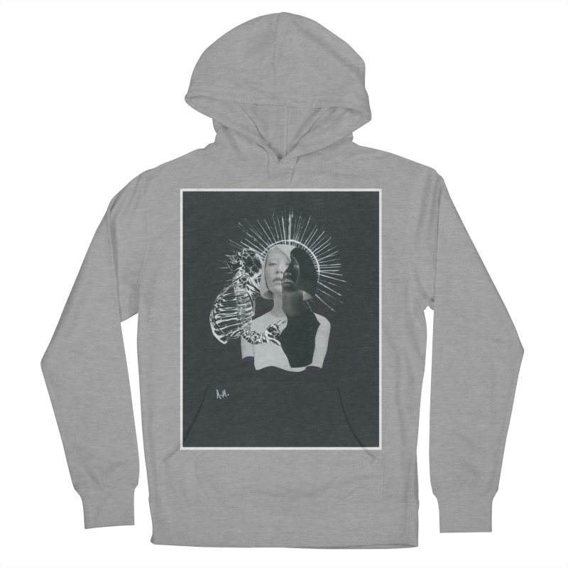 Spiritus Men's French Terry Pullover Hoody by notes and pictures's Artist Shop