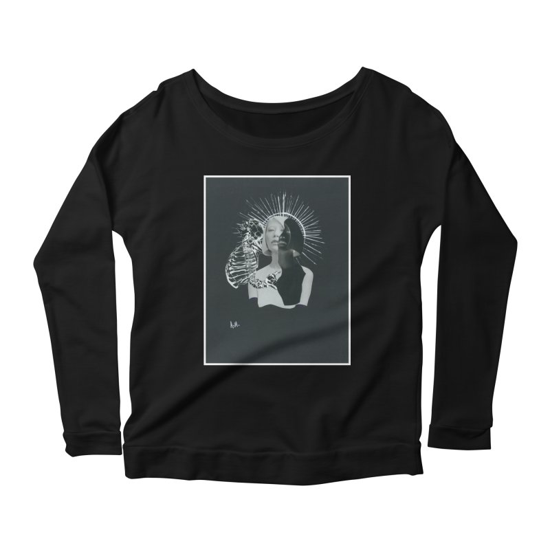 Spiritus Women's Scoop Neck Longsleeve T-Shirt by notes and pictures's Artist Shop