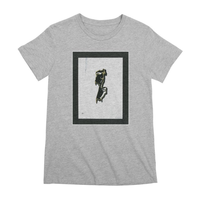 Gold Whispers Women's Premium T-Shirt by notes and pictures's Artist Shop