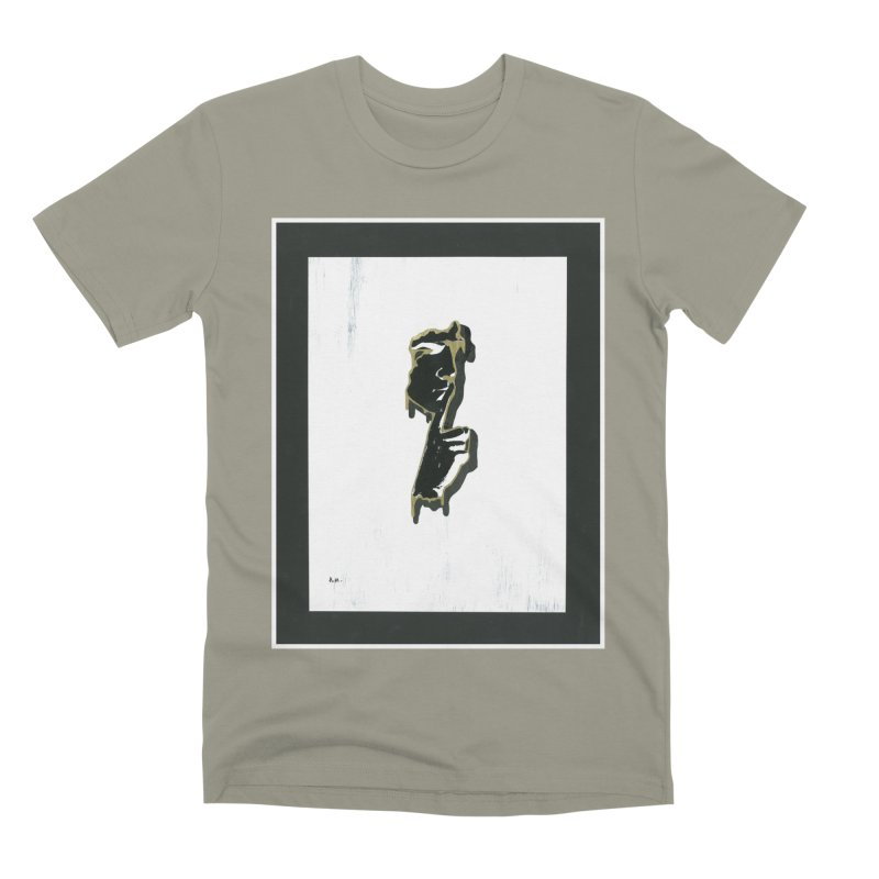 Gold Whispers Men's Premium T-Shirt by notes and pictures's Artist Shop