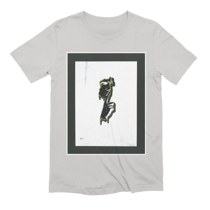 Gold Whispers Men's Extra Soft T-Shirt by notes and pictures's Artist Shop