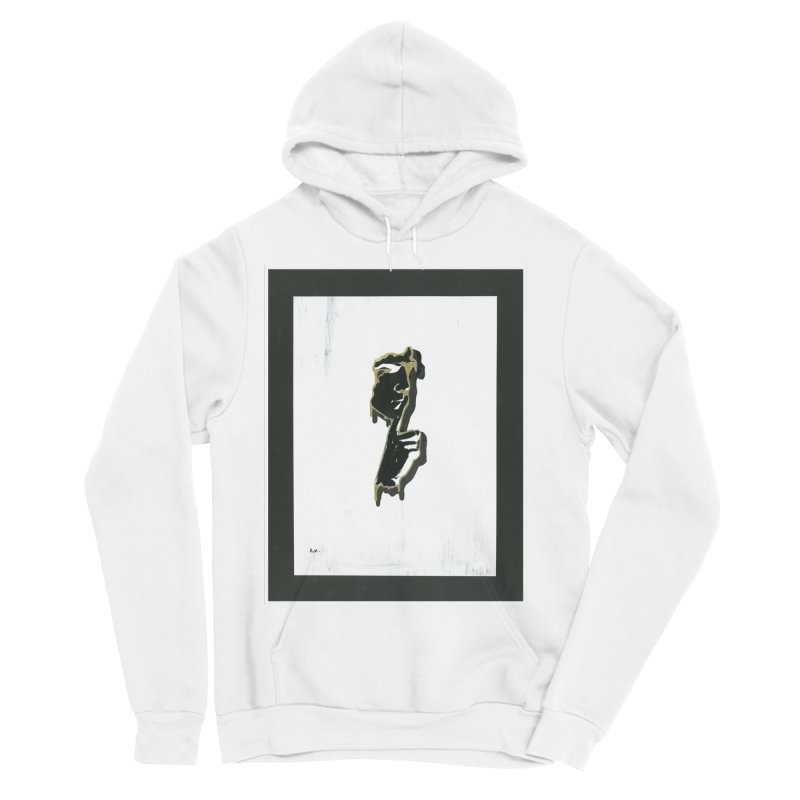 Gold Whispers Men's Sponge Fleece Pullover Hoody by notes and pictures's Artist Shop