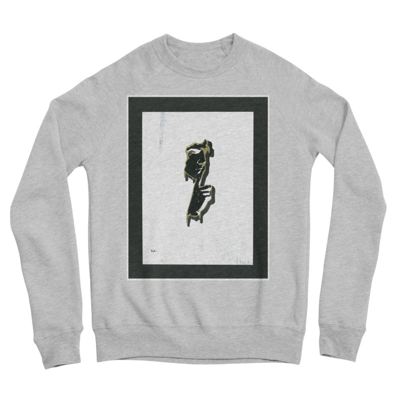 Gold Whispers Women's Sponge Fleece Sweatshirt by notes and pictures's Artist Shop
