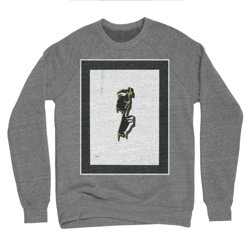 Gold Whispers Men's Sweatshirt by notes and pictures's Artist Shop