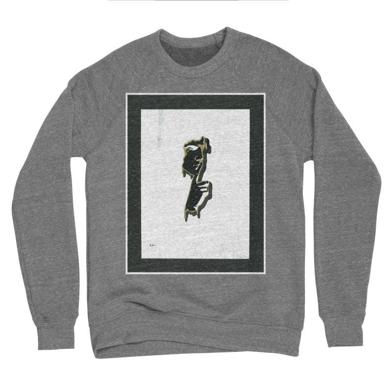 Gold Whispers Men's Sponge Fleece Sweatshirt by notes and pictures's Artist Shop