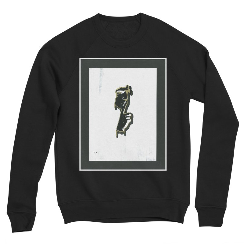 Gold Whispers Men's Sponge Fleece Sweatshirt by notes and pictures's Artist Shop