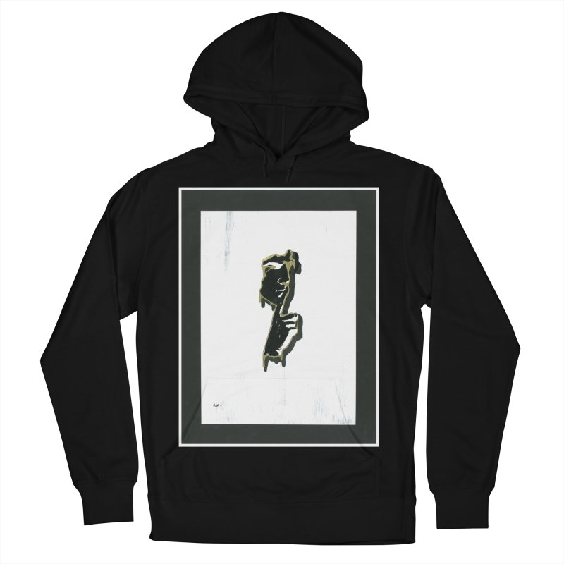 Gold Whispers Women's French Terry Pullover Hoody by notes and pictures's Artist Shop