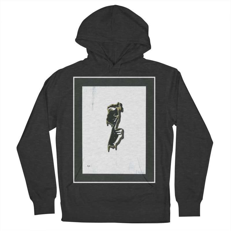 Gold Whispers Men's French Terry Pullover Hoody by notes and pictures's Artist Shop