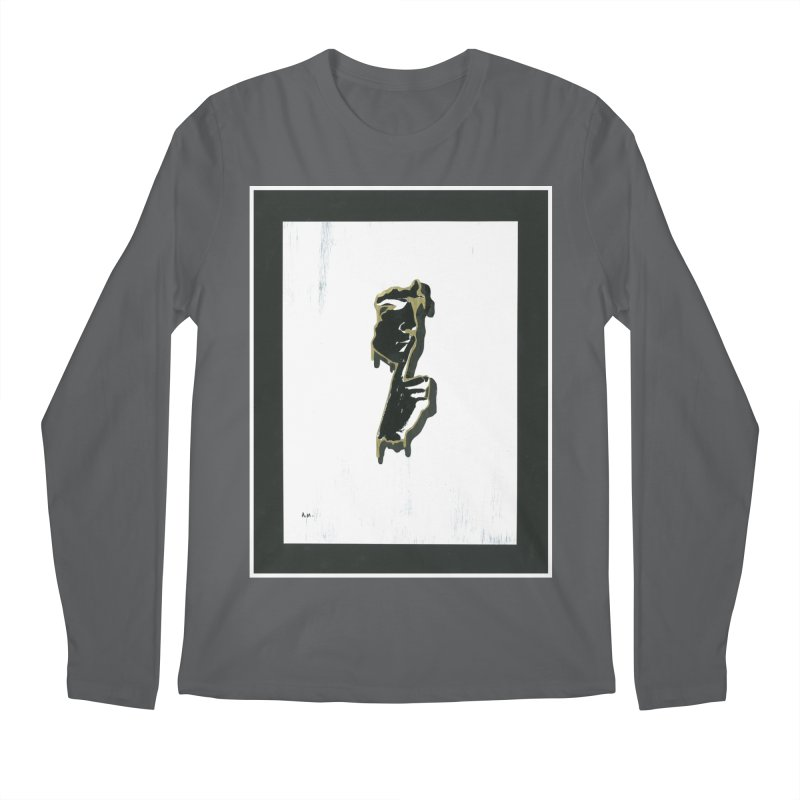 Gold Whispers Men's Regular Longsleeve T-Shirt by notes and pictures's Artist Shop