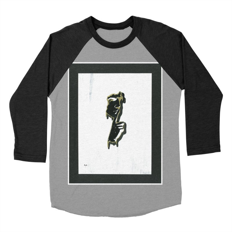 Gold Whispers Women's Baseball Triblend Longsleeve T-Shirt by notes and pictures's Artist Shop