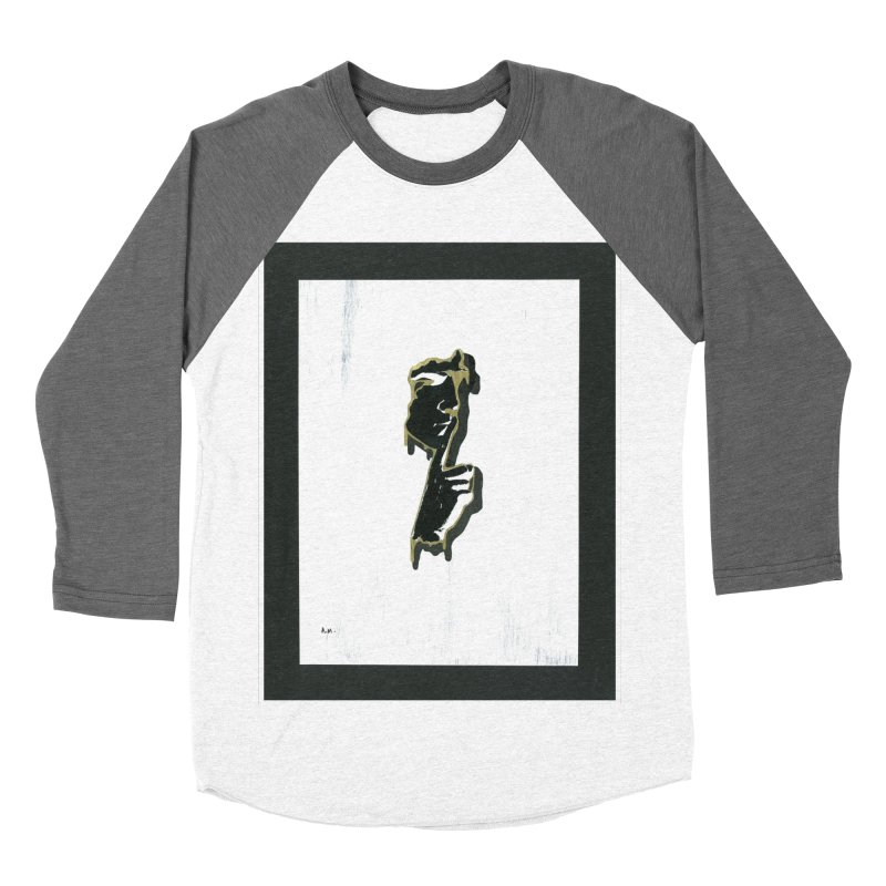 Gold Whispers Men's Baseball Triblend Longsleeve T-Shirt by notes and pictures's Artist Shop