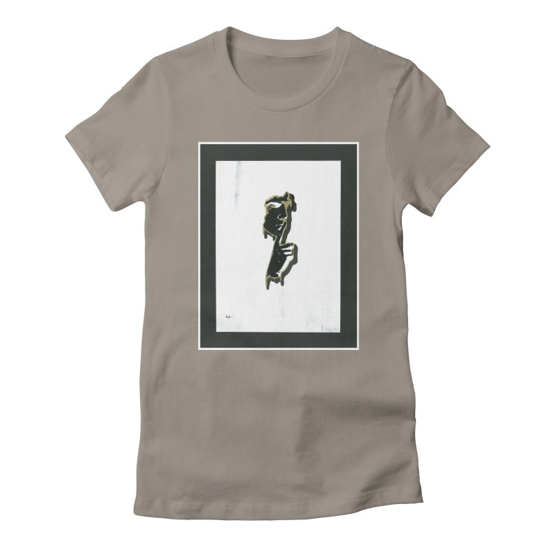 Gold Whispers Women's T-Shirt by notes and pictures's Artist Shop