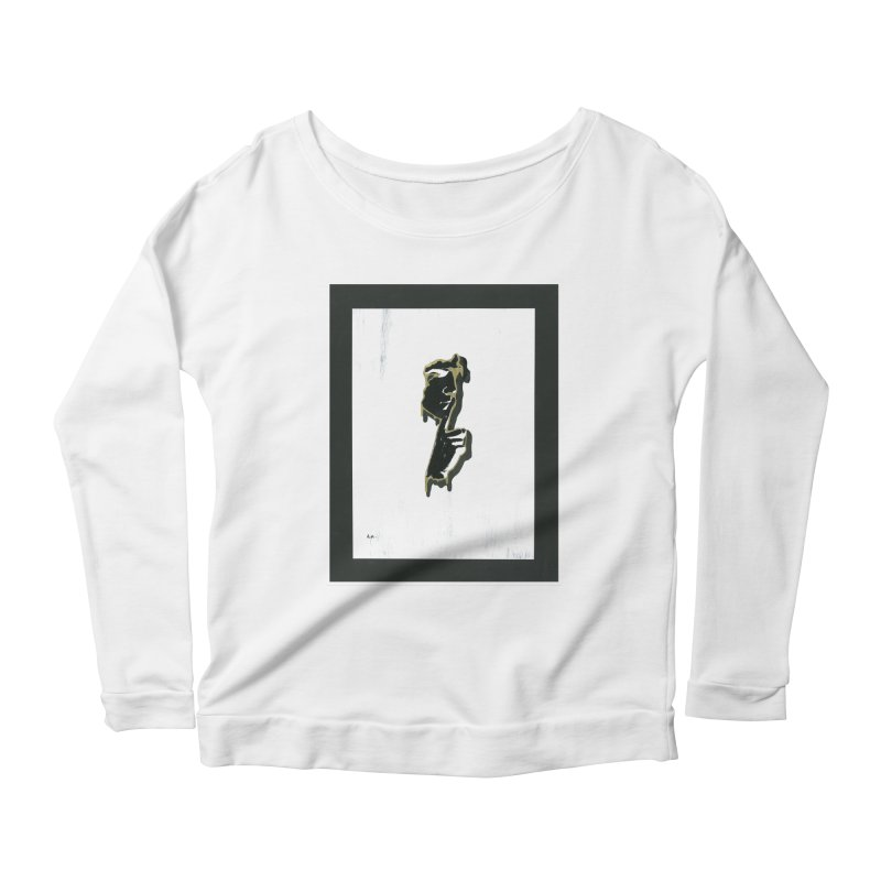 Gold Whispers Women's Scoop Neck Longsleeve T-Shirt by notes and pictures's Artist Shop