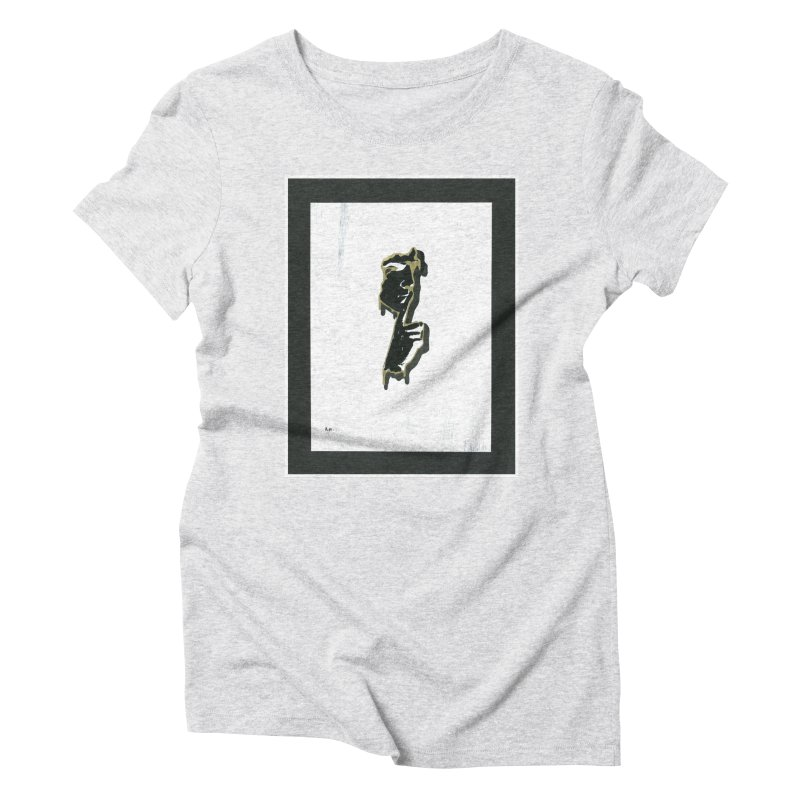 Gold Whispers Women's Triblend T-Shirt by notes and pictures's Artist Shop