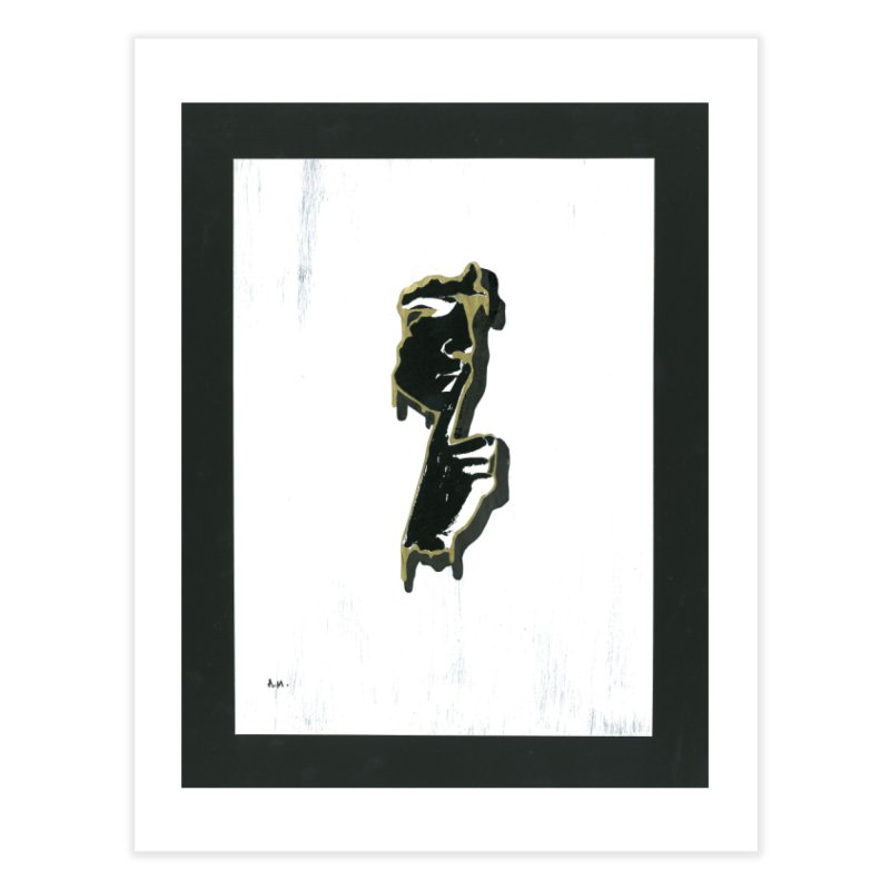 Gold Whispers Home Fine Art Print by notes and pictures's Artist Shop
