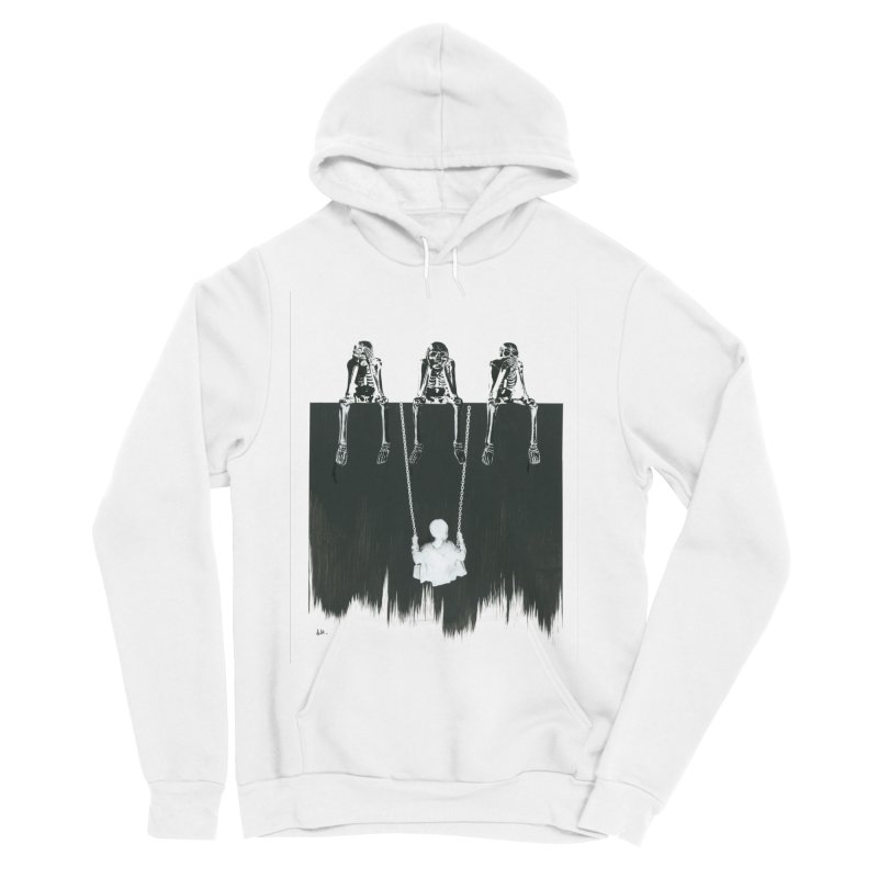 Devil's Playground Men's Sponge Fleece Pullover Hoody by notes and pictures's Artist Shop
