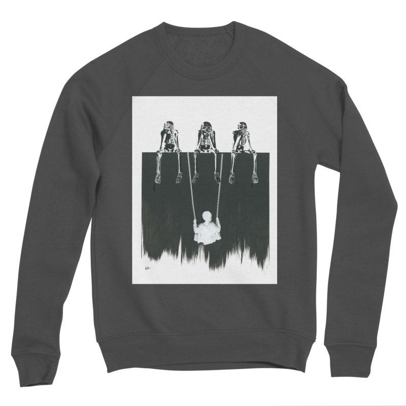 Devil's Playground Men's Sponge Fleece Sweatshirt by notes and pictures's Artist Shop