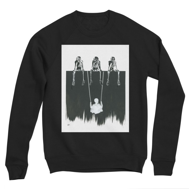 Devil's Playground Men's Sponge Fleece Sweatshirt by notes and pictures's Artist Shop