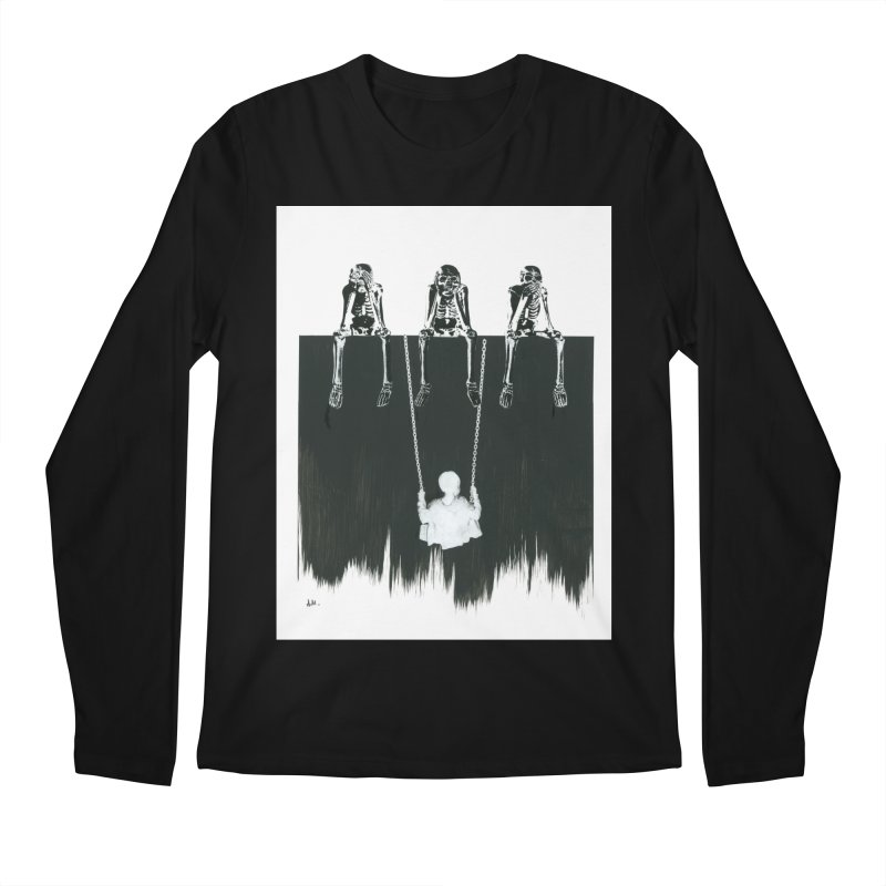 Devil's Playground Men's Longsleeve T-Shirt by notes and pictures's Artist Shop
