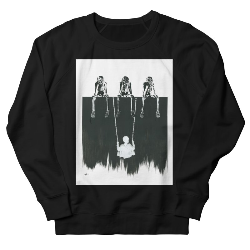 Devil's Playground Women's French Terry Sweatshirt by notes and pictures's Artist Shop