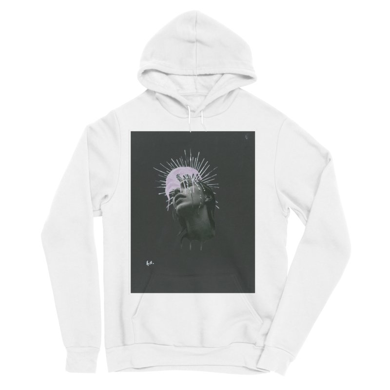 Angel Grief Men's Sponge Fleece Pullover Hoody by notes and pictures's Artist Shop