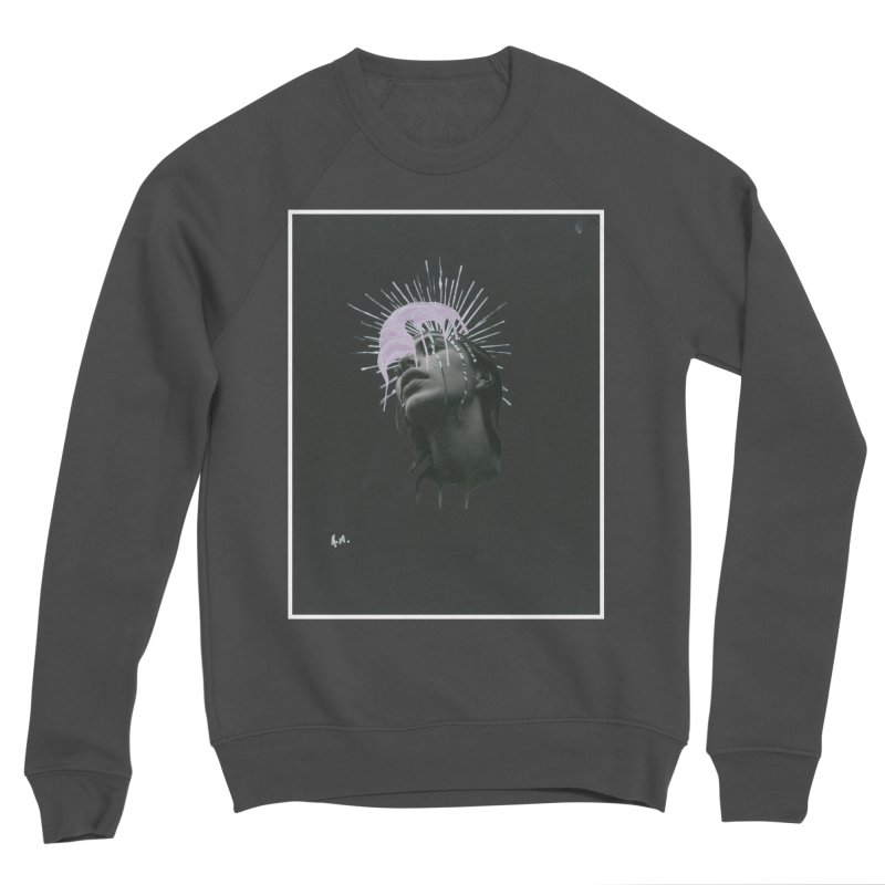 Angel Grief Women's Sponge Fleece Sweatshirt by notes and pictures's Artist Shop
