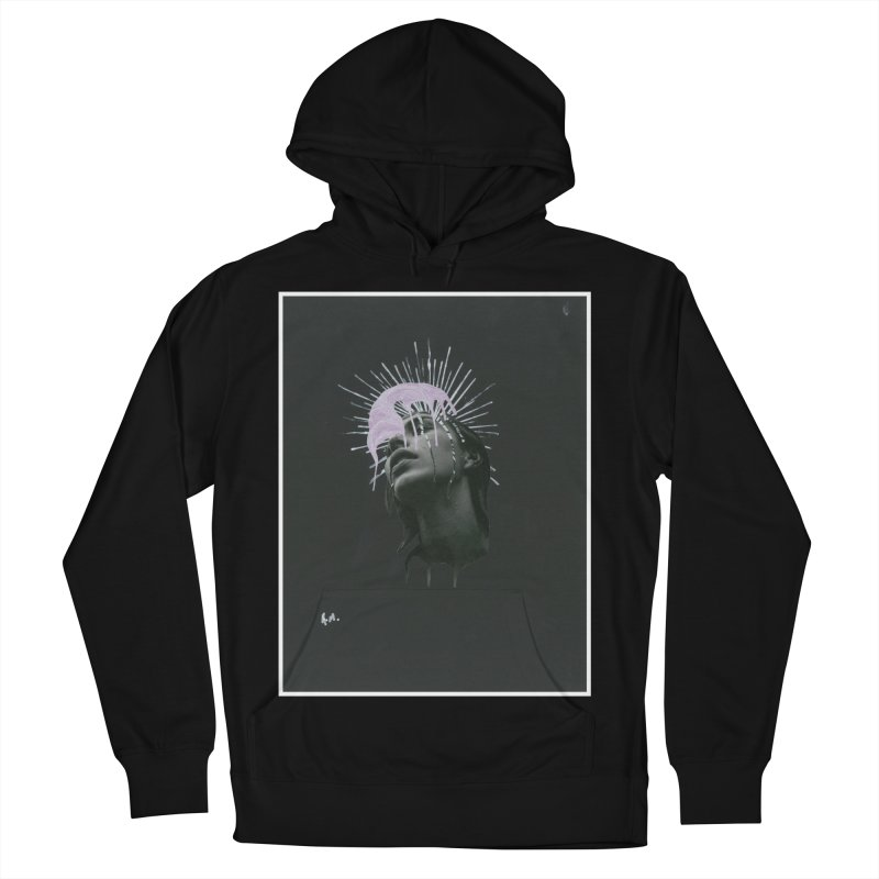 Angel Grief Men's French Terry Pullover Hoody by notes and pictures's Artist Shop