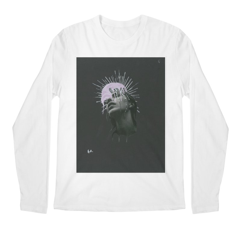 Angel Grief Men's Regular Longsleeve T-Shirt by notes and pictures's Artist Shop
