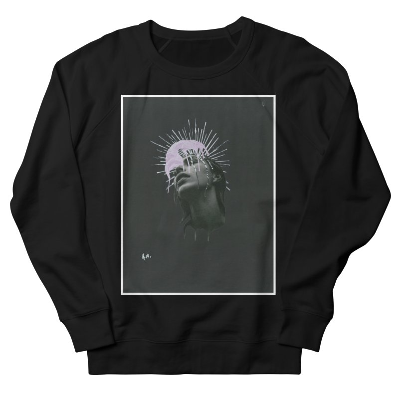 Angel Grief Men's French Terry Sweatshirt by notes and pictures's Artist Shop